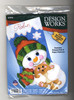 Design Works - Hugs for Kitty Christmas Stocking