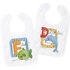 Plaid / Bucilla - Sea Life Bib Pair