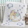 Plaid / Bucilla - Born to Dream Crib Cover