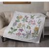 Plaid / Bucilla - Wildflower Botanical Lap Quilt