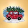 Mill Hill 2019 Winter Holiday Collection - Tree Shopping Ornament