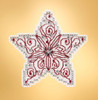 Mill Hill 2019 Winter Holiday Collection - Filigree Star Ornament