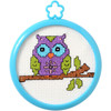 Plaid / Bucilla - My 1st Stitch - Owl on a Branch