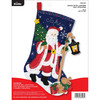 Plaid / Bucilla - Santa with Lantern Stocking