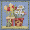 Mill Hill 2019 Debbie Mumm Blooms & Blossoms - Tulips and Daisies