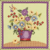 Mill Hill 2019 Debbie Mumm Blooms & Blossoms - Floral Bouquet