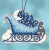Mill Hill 2017 Sleigh Ride Charmed Ornament - Celestial Sleigh