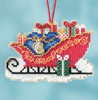 Mill Hill 2017 Sleigh Ride Charmed Ornament - Traditional Sleigh