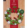 Plaid / Bucilla - Tis The Season Wreath