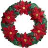 Plaid / Bucilla - Poinsettia Wreath