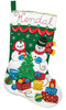 Plaid / Bucilla - Decorating The Tree Stocking