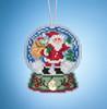Mill Hill 2019 Snow Globe Charmed Ornament - Santa Globe