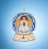 Mill Hill 2019 Snow Globe Charmed Ornament - Angel Globe