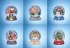2019 Mill Hill Snow Globe Charmed Ornament Set (6 Kits)