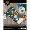 Plaid / Bucilla -  Snowman With Presents Stocking