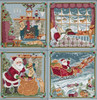 2018 Mill Hill A Visit From St. Nick Quartet (Set of 4 kits)