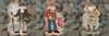 2018 Mill Hill National Parks Santas Trio (Set of 3 Kits)