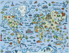 Design Works - Illustrated World Map