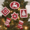 Plaid / Bucilla -  Nordic Christmas Ornaments