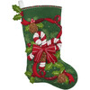 Plaid / Bucilla -  Candy Canes and Ribbons Stocking