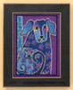 Mill Hill / Laurel Burch - Bloomingtails  (LINEN)