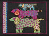 Mill Hill / Laurel Burch - Dog Pyramid   (LINEN)