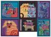 Mill Hill / Laurel Burch Dogs Series (Set of 6 AIDA Kits)