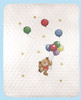 Janlynn - Bear With Balloons Quilt