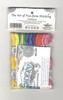 Design Works - Zenbroidery 12 Skein Variegated Trim Pack