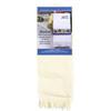 DMC Maxton Velour Ecru Guest Towel with 14 Count Aida Border
