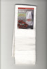 DMC Aberdeen Velour White Hand Towel with 14 Count Aida Border
