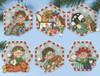 Design Works - Set of 6 Toy Shop Elves Ornaments