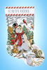 Design Works - Woodland Snowman Christmas Stocking