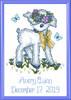 Janlynn - Vintage Lamb Birth Announcement