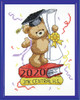 Design Works -  Graduation Bear