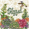 Design Works -  Blessed Hummingbird