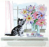 Design Works -  Cat with Vase