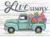 Dimensions Minis -  Flower Truck
