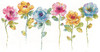 Design Works -  Watercolor Floral Row