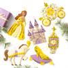 Plaid / Bucilla - The Glass Slipper Christmas Ornaments