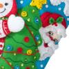 Plaid / Bucilla - Tree Party Christmas Stocking