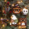 Plaid / Bucilla -  Vintage Halloween Ornaments