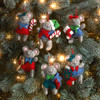 Plaid / Bucilla -  Night Before Christmas Ornaments