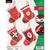 Plaid / Bucilla -  Holiday Elegance Christmas Ornaments