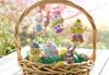 Plaid / Bucilla -  Oversized Easter Ornaments