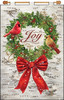 Design Works - Joy Wreath Jeweled Banner Kit