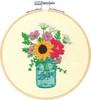 Dimensions Learn a Craft - Floral Jar