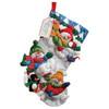 Plaid / Bucilla - Snow Fun Stocking