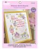Plaid / Bucilla - Princess Birth Record