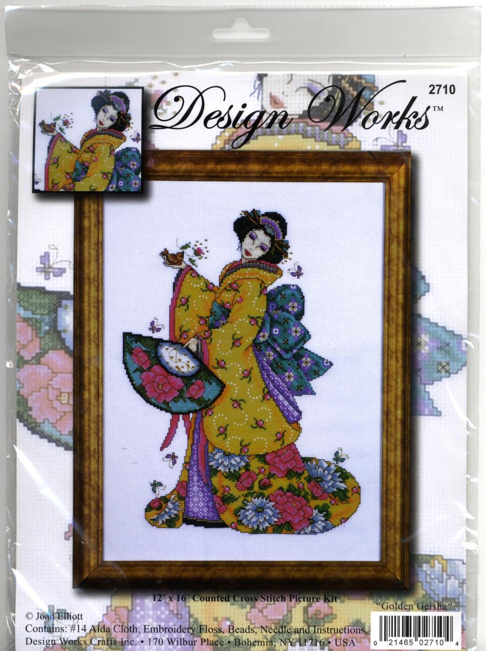 Design Works - Golden Geisha
